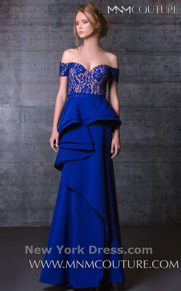MNM Couture N0104 Royal Blue