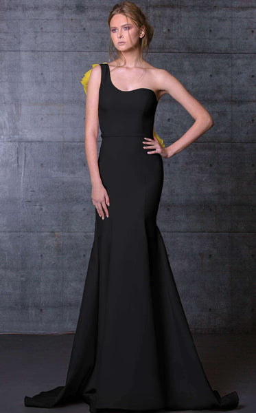 MNM Couture N0105 Black/Mustard