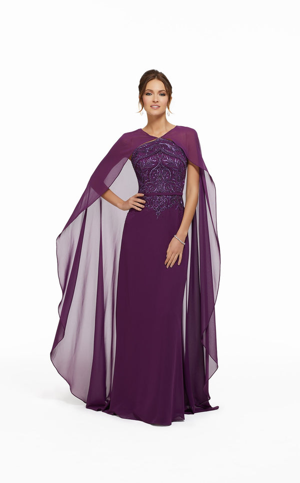 MGNY 72001 Dress Orchid