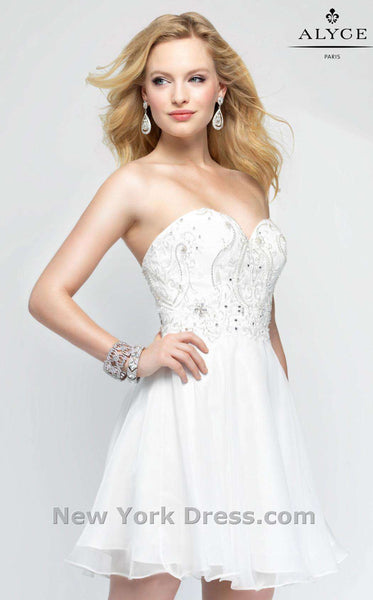 Alyce 3688 Diamond White