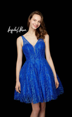Angela And Alison 72039 Royal-Blue