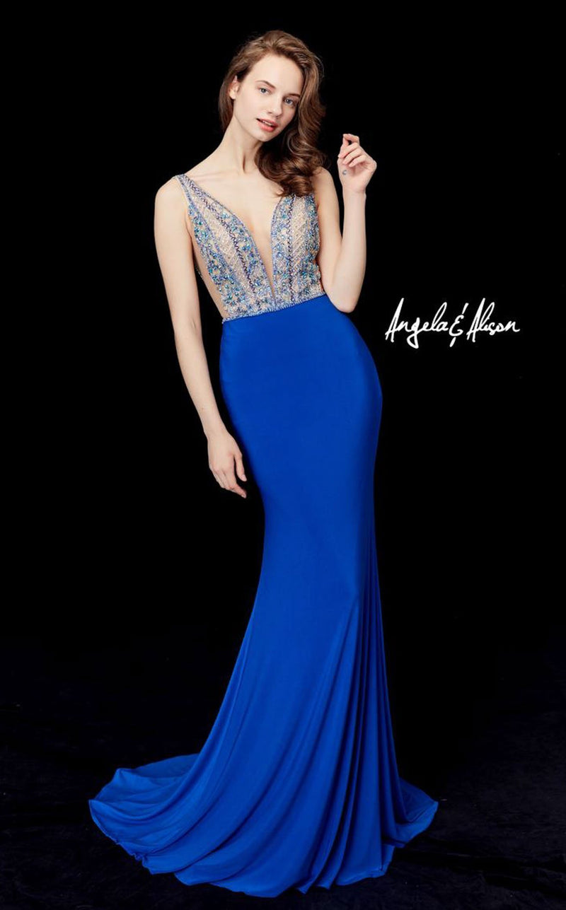 Angela And Alison 72061 Royal-Blue