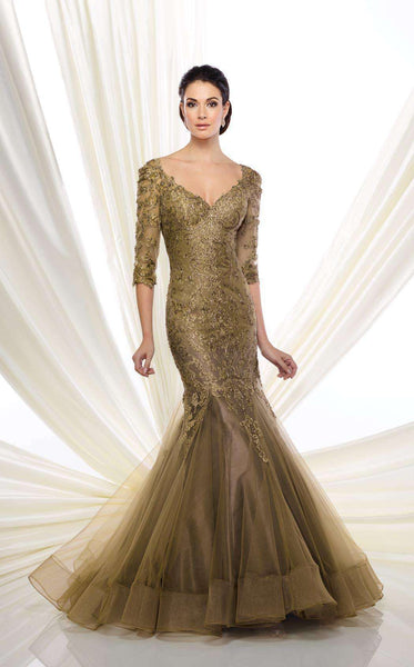 Ivonne D 216D50 Antique Gold