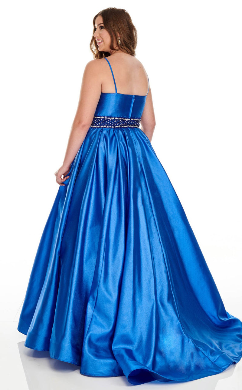 Rachel Allan 7223 Dress Royal