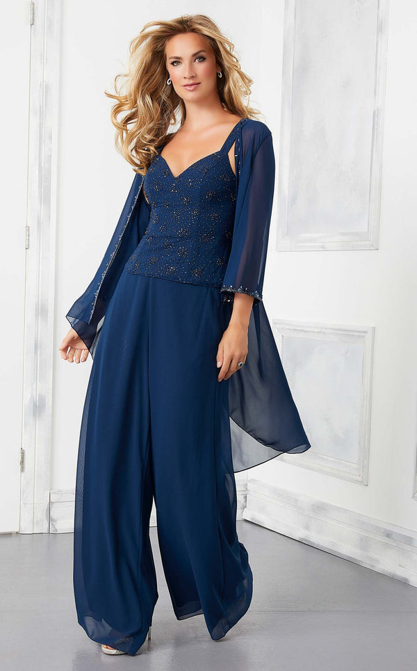MGNY 72303 Jumpsuit Navy