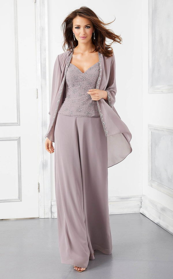 MGNY 72303 Jumpsuit Taupe