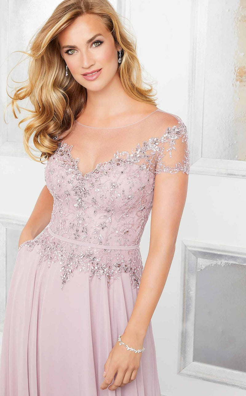 MGNY 72309 Dress Desert-Rose