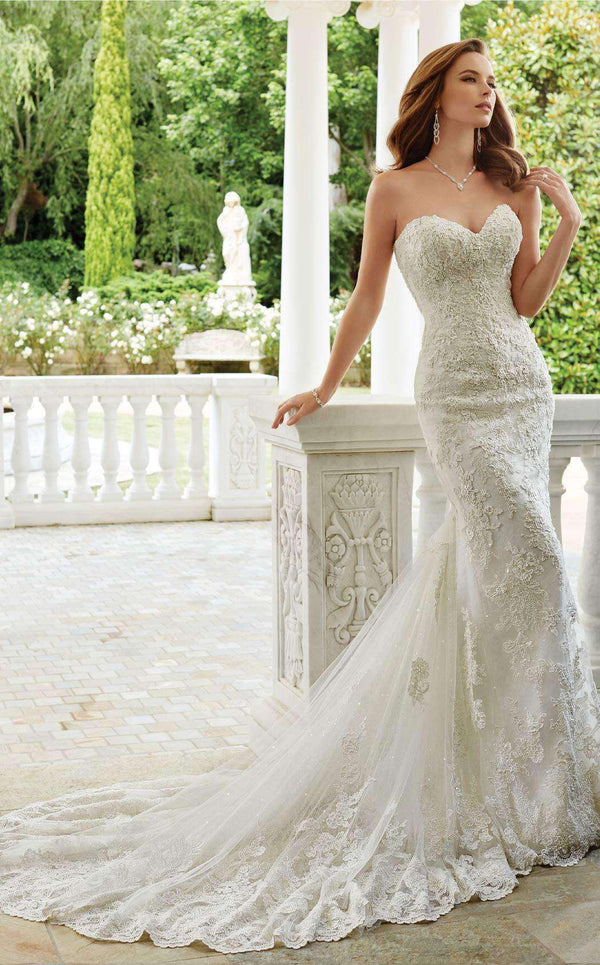 Sophia Tolli Y21674 Ivory/Light Pewter