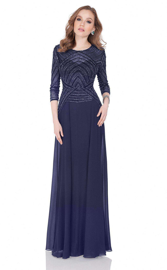 Open Terani Couture Gowns & Dresses. light gold, black, navy blue ...