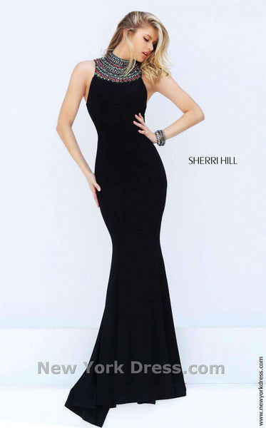 Sherri Hill 50629 Black/Multi