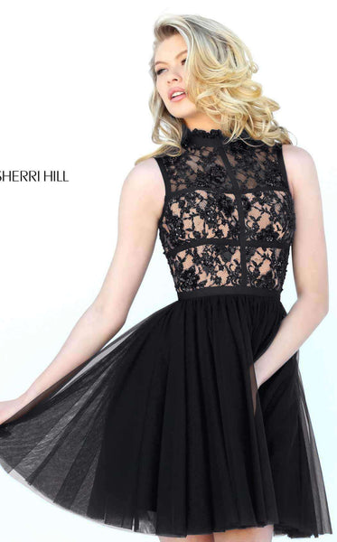 Sherri Hill 50636 Black