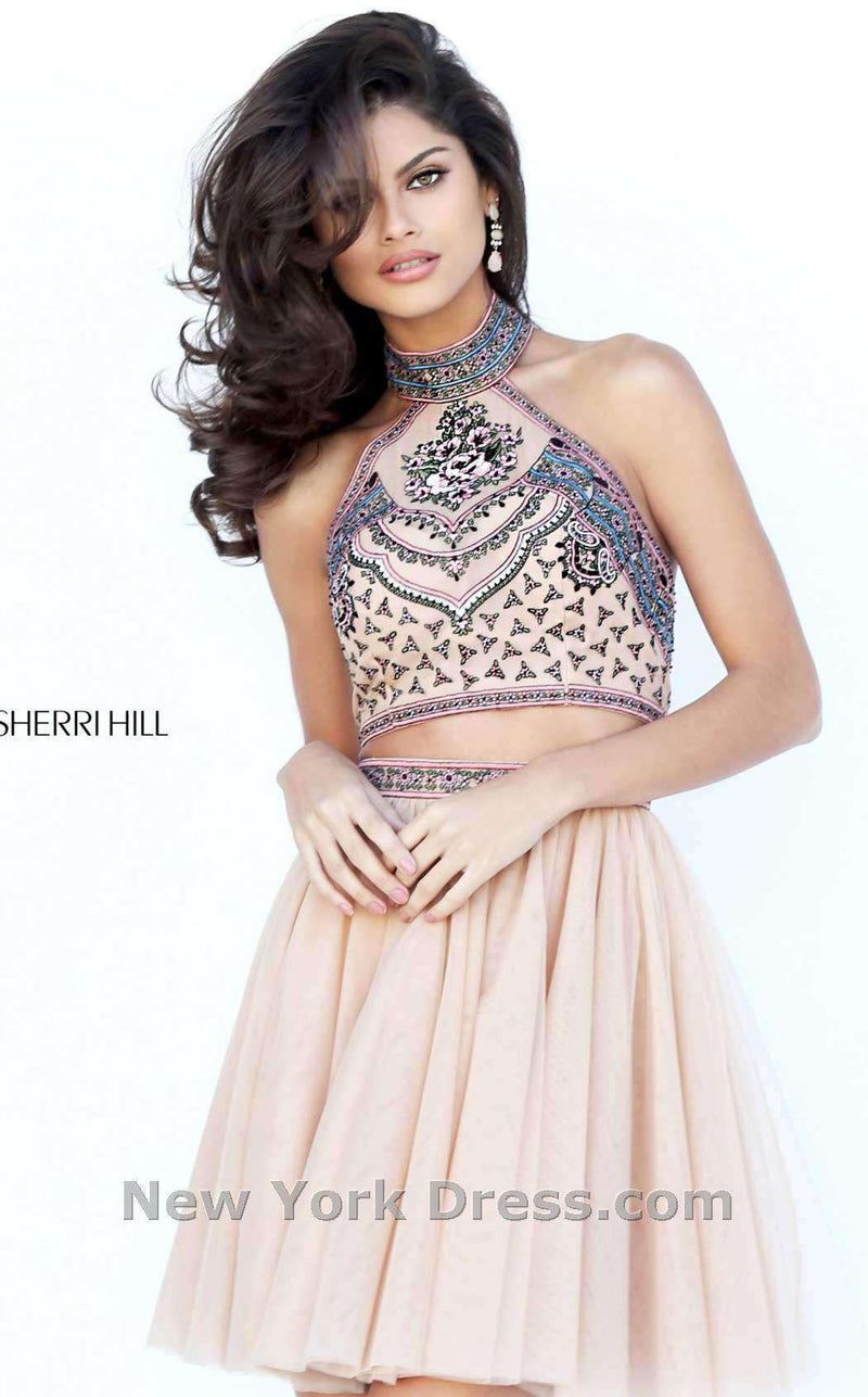 Sherri Hill 50645 Nude/Multi