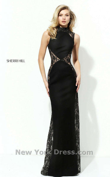 Sherri Hill 50652 Black