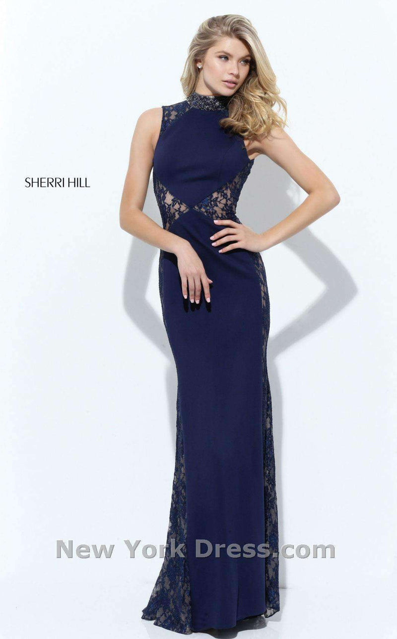 Sherri Hill 50652 Navy
