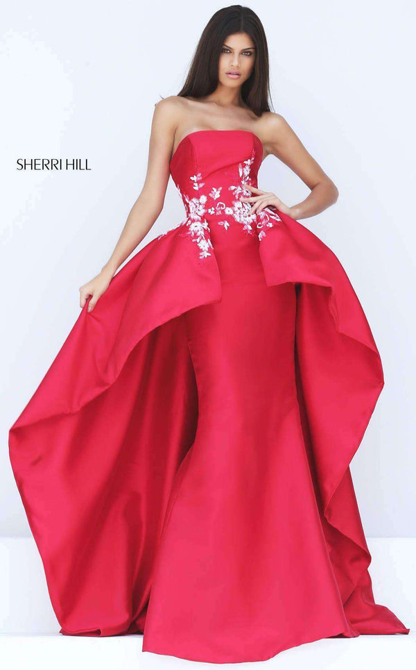 Sherri Hill 50685 Red