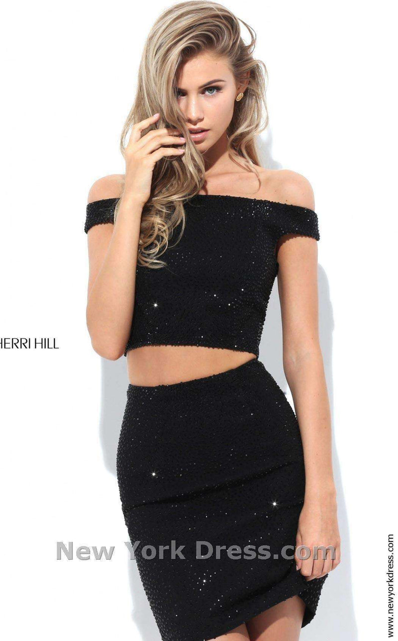 Sherri Hill 50701 Black