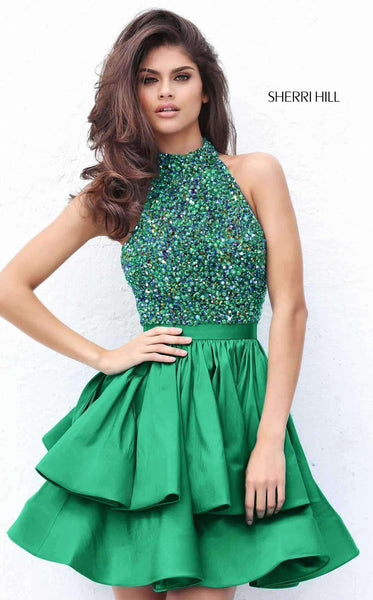 Sherri Hill 50711 Emerald