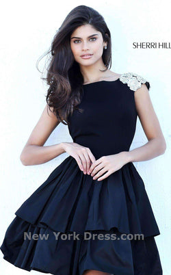 Sherri Hill 50712 Black