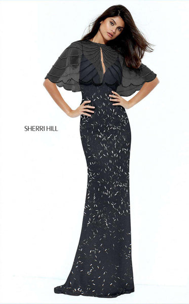 Sherri Hill 50731 Black