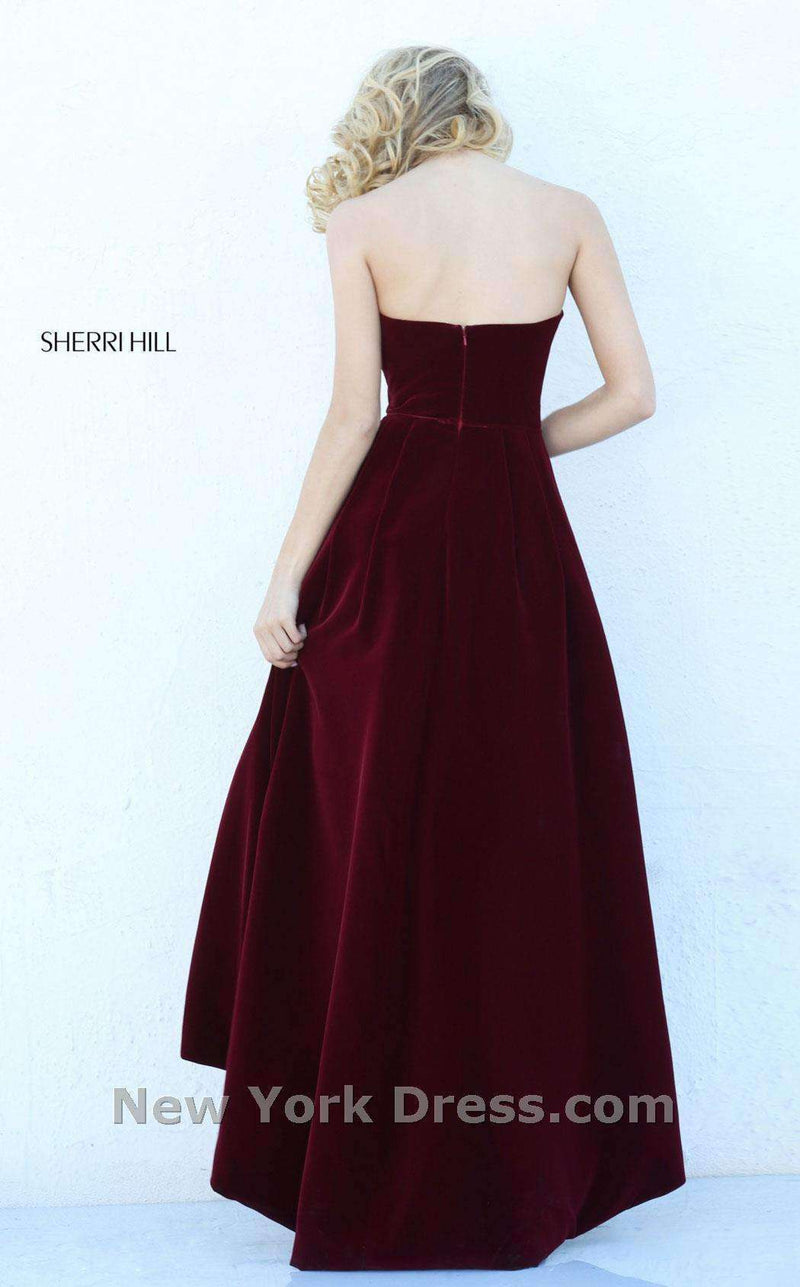 Sherri Hill 50735 Wine