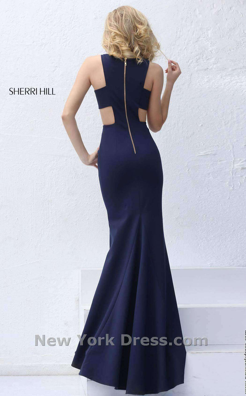 Sherri Hill 50741 Navy