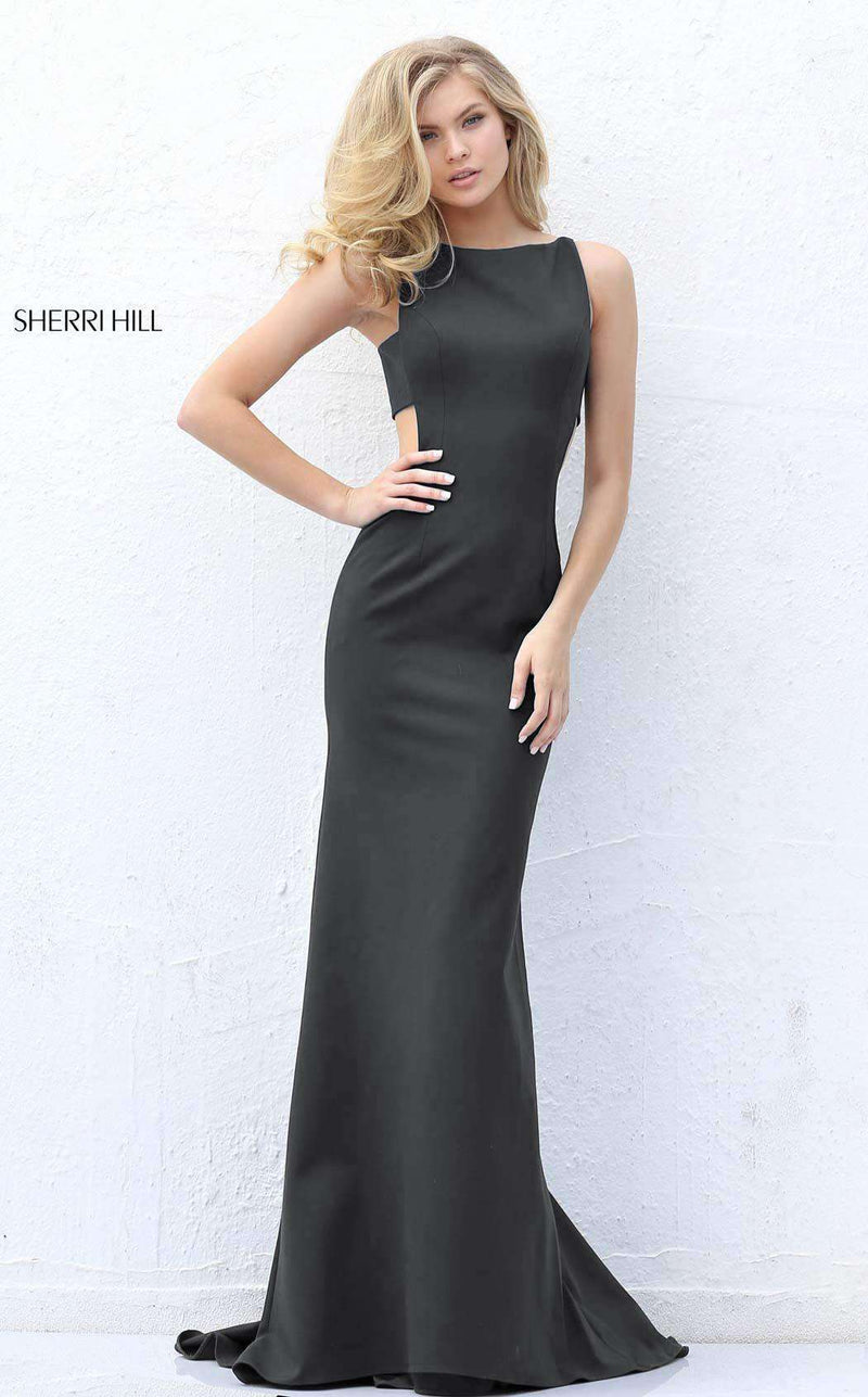 Sherri Hill 50741 Black