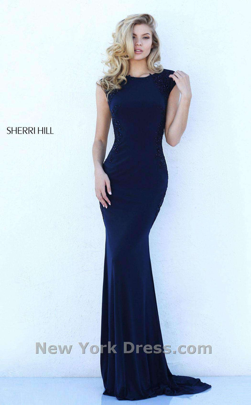 Sherri Hill 50763 Navy