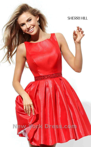 Sherri Hill 50505 Red