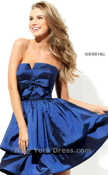 Sherri Hill 50546 Navy