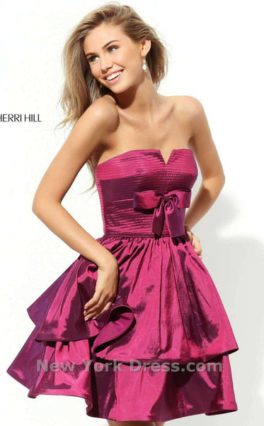 Sherri Hill 50546 Wine