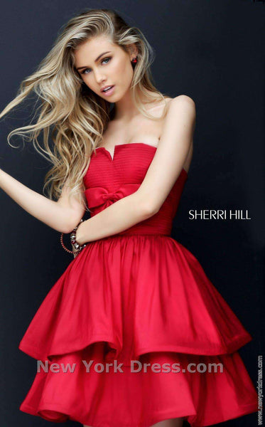 Sherri Hill 50546 Red