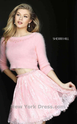 Sherri Hill 50549 Blush