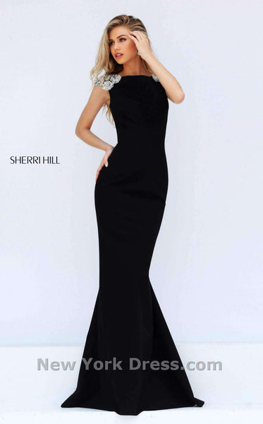 Sherri Hill 50593 Black