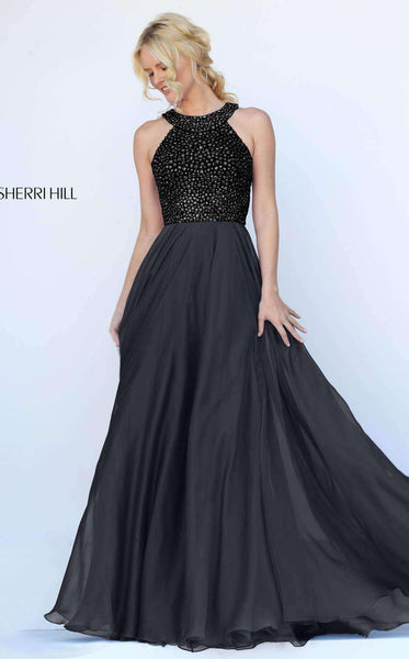 Sherri Hill 50615 Black