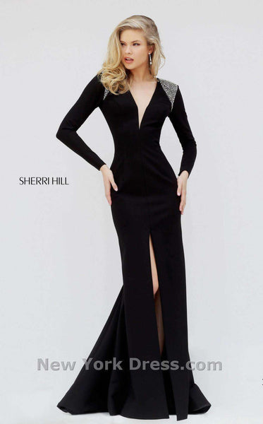 Sherri Hill 50618 Black/Silver