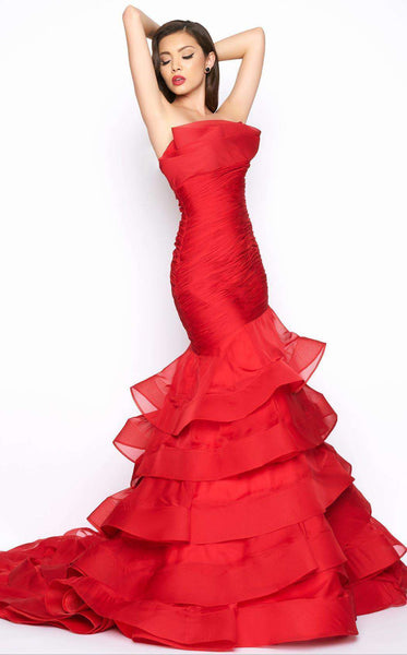 Mac Duggal 80559R Deep Red
