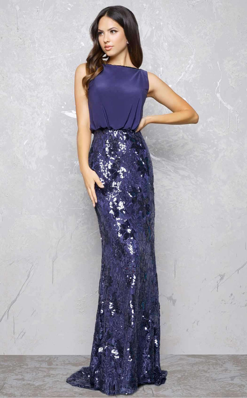 Mac Duggal 80660D Midnight Blue