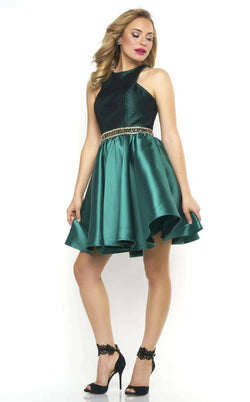 Mac Duggal 65720N Emerald/Black