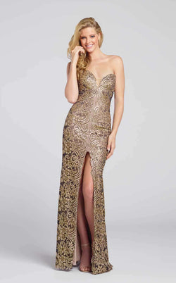 Ellie Wilde EW117110 Black/Gold