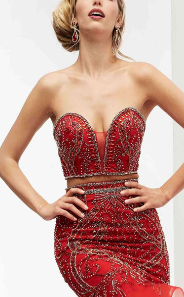 Jasz Couture 5922 Red