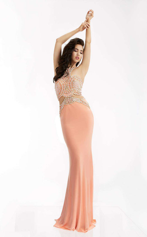 Jasz Couture 5944 Peach