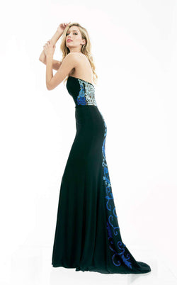 Jasz Couture 5973 Black/Blue