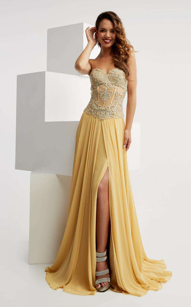 Jasz Couture 6019 Gold