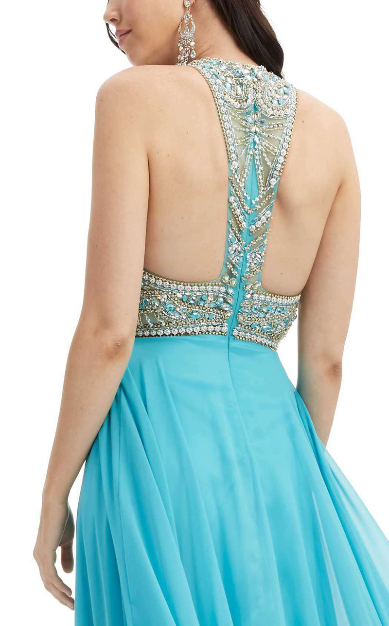 Jasz Couture 6088 Turquoise