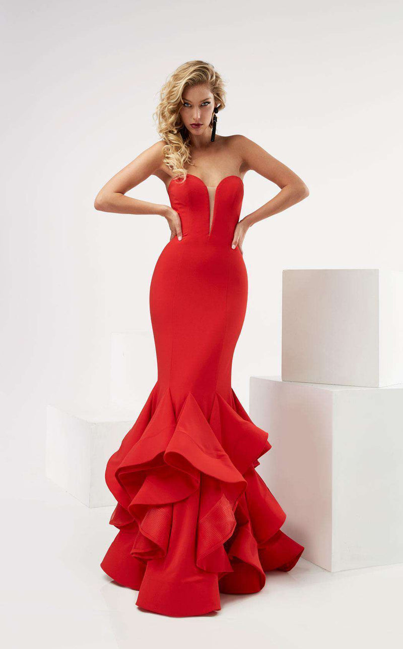 Jasz Couture 6115 Red