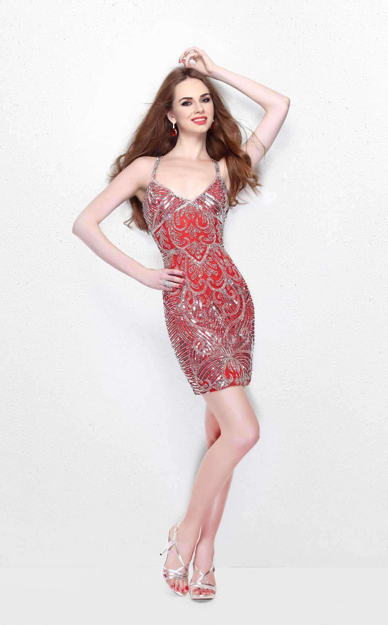 Primavera Couture 1662 Red