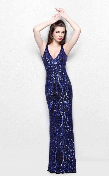 Primavera Couture 1732 Black/Blue