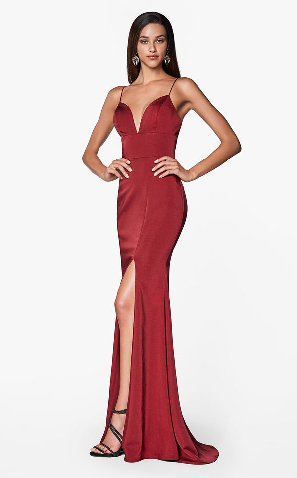 Cinderella Divine 7470 Dress Burgundy
