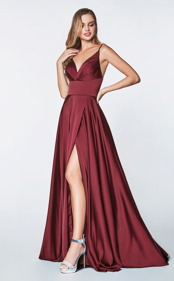 Cinderella Divine 7472 Dress Burgundy