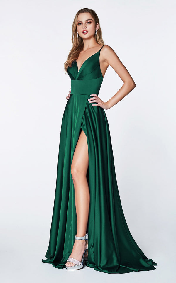 Cinderella Divine 7472 Dress Emerald